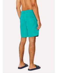 Paul Smith - Blue Short De Bain Turquoise for Men - Lyst