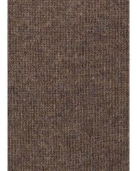 Paul Smith - Men's Brown And Taupe Vertical Stripe Socks for Men - Lyst