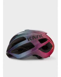 Paul Smith - Multicolor Kask 'Rainbow Gradient' Protone US Cycling Helmet for Men - Lyst
