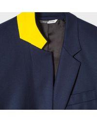 Paul Smith - Blue Women's Navy Wool Blazer - Lyst