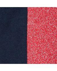 Paul Smith - Blue Women's Navy Glittery Panel Socks - Lyst