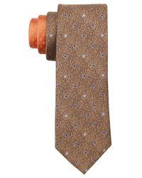 Perry Ellis - Multicolor Fulton Dot Silk Tie for Men - Lyst