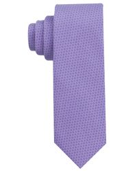 Perry Ellis | Purple Glaucus Dot Tie for Men | Lyst