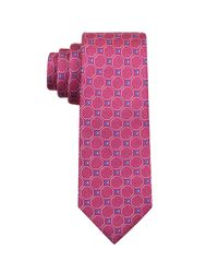Perry Ellis | Purple Gibbons Neat Silk Tie for Men | Lyst