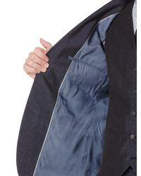 Perry Ellis   Blue Slim Fit End On End Linen Suit Jacket for Men   Lyst