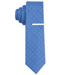 Perry Ellis - Blue Cadary Dot Tie for Men - Lyst
