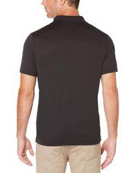 Perry Ellis - Blue Short Sleeve Micro Stripe Polo for Men - Lyst