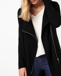 Phase Eight - Black Byanca Zip Coat - Lyst