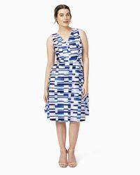 Phase Eight | Blue Dita Dress | Lyst
