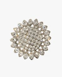 Phase Eight | Metallic Lola Crystal Brooch | Lyst