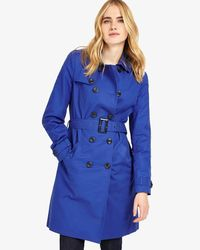 Phase Eight - Persian Blue Tabatha Trench Coat - Lyst