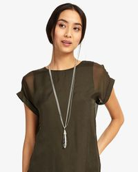 Phase Eight - Metallic Alice Crystal Pendant Necklace - Lyst