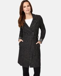 Phase Eight - Multicolor Trista Wool Trench Coat - Lyst