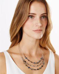Phase Eight | Blue Olivia Illusion Necklace | Lyst