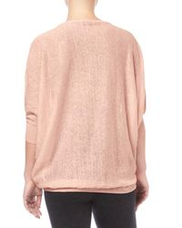 Phase Eight - Multicolor Linen Becca Batwing Jumper - Lyst