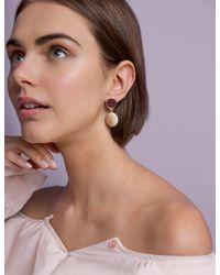 Pixie Market - Multicolor Pearlized Drop Earrings - Lyst