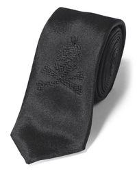 """Philipp Plein - Black Tie """"gibson"""" for Men - Lyst"""