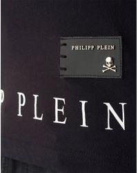 """Philipp Plein - Black T-shirt Round Neck Ss """"queen -s"""" for Men - Lyst"""