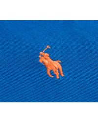 Ralph Lauren - Custom Fit 2-button Fade Polo Bright Imperial Blue for Men - Lyst