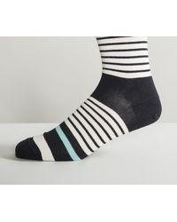 Paul Smith - 'raptoot' Patterned Socks Black for Men - Lyst