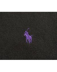 Ralph Lauren - Black Crew Neck Sweatshirt Polo Charcoal for Men - Lyst