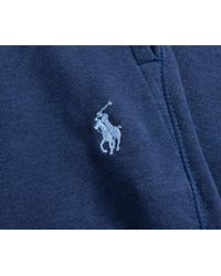 Ralph Lauren - Blue Soft Cotton Cuffed Sweatpant Navy for Men - Lyst