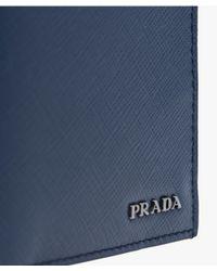 Prada - Blue Document Holder for Men - Lyst