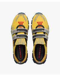 Prada - Yellow Crossection Sneakers for Men - Lyst
