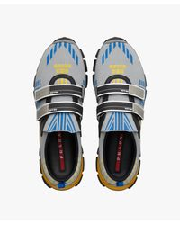 Prada - Blue Crossection Sneakers for Men - Lyst