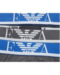 Emporio Armani - Multicolor 3 Pack Ea Waistband Briefs for Men - Lyst