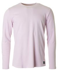 Edwin - Pink Terry Crew Neck Sweat for Men - Lyst
