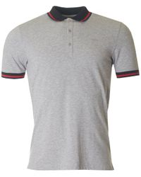 HUGO - Gray Darese Short Sleeved Polo for Men - Lyst