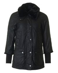 Barbour | Black Snow Bedale Wax Jacket | Lyst