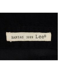 Lee Jeans - Black Western Cord Shirt for Men - Lyst