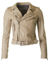 Oakwood | Natural Calamity Biker Style Jacket | Lyst