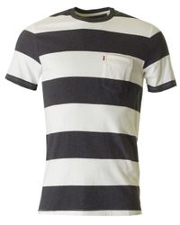 Levi's Black Sunset One Pocket Striped for men