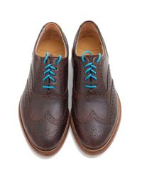 J SHOES - Brown Charlie Brogue for Men - Lyst
