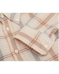 Polo Ralph Lauren - Natural Georgia Checked Shirt - Lyst