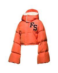 PUMA - Multicolor Fenty Women's Cropped Hooded Puffer Coat - Lyst