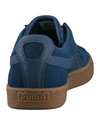 PUMA | Blue Suede Classic Natural Warmth Sneakers for Men | Lyst