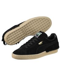 4f9aa047ad3 Lyst - PUMA Suede Tssll Women s Sneakers in Black