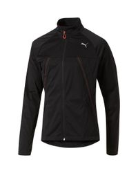 PUMA Black Running Vent Thermo-r Runner Jacket for men
