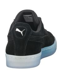 PUMA - Black Suede Classic Explosive Men's Sneakers for Men - Lyst