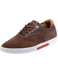 89a309cbcb6a32 PUMA Funist Suede Lo Men's Shoes in Brown for Men - Lyst
