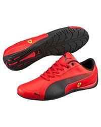 PUMA - Black Ferrari Drift Cat 5 Men's Shoes for Men - Lyst