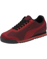 PUMA | Red Men's Ignite Dual Running Sneakers From Finish Line for Men | Lyst
