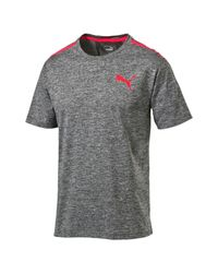 PUMA - Gray Pwrcool Bonded Tech Top for Men - Lyst