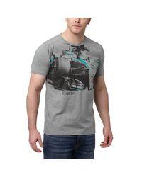 PUMA | Gray Mercedes Graphic T-shirt for Men | Lyst