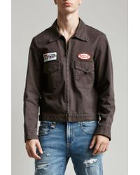 R13 - Black Mechanic Jacket for Men - Lyst