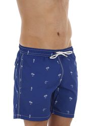 Hartford - Blue Swimwear For Men for Men - Lyst